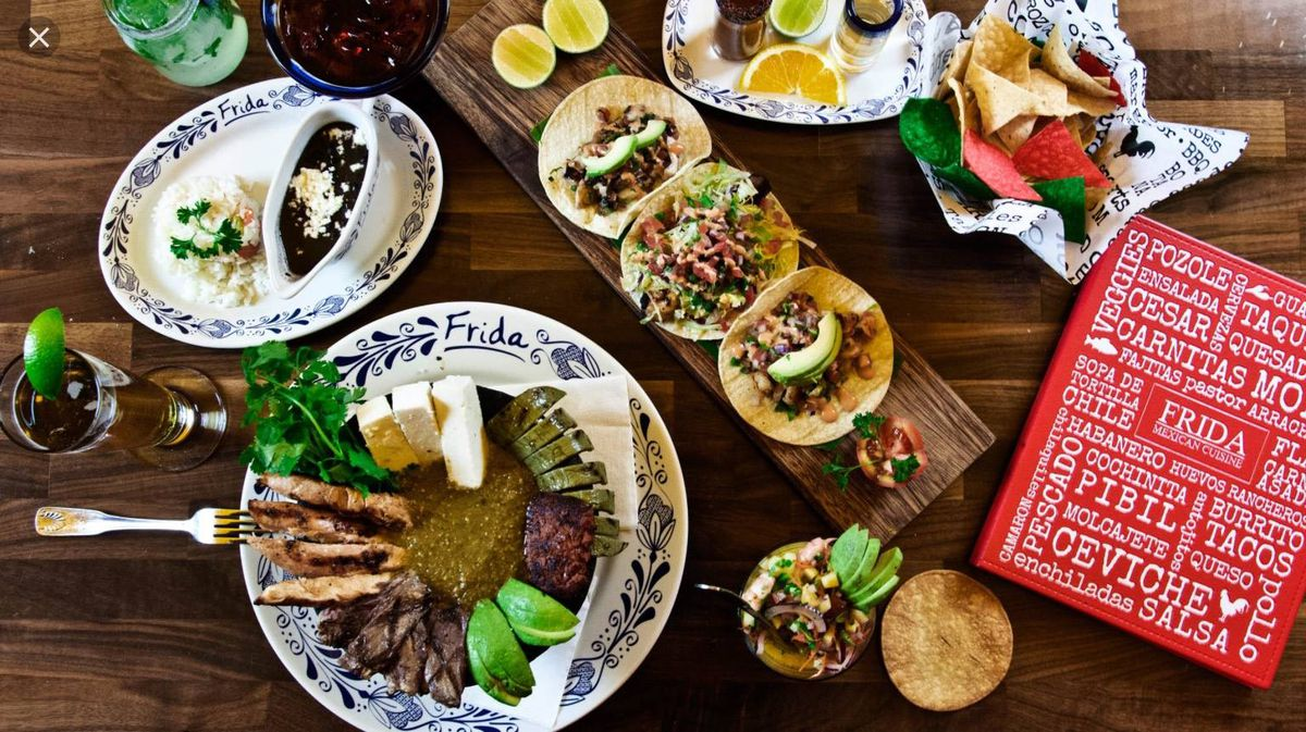 An array of Mexican dishes