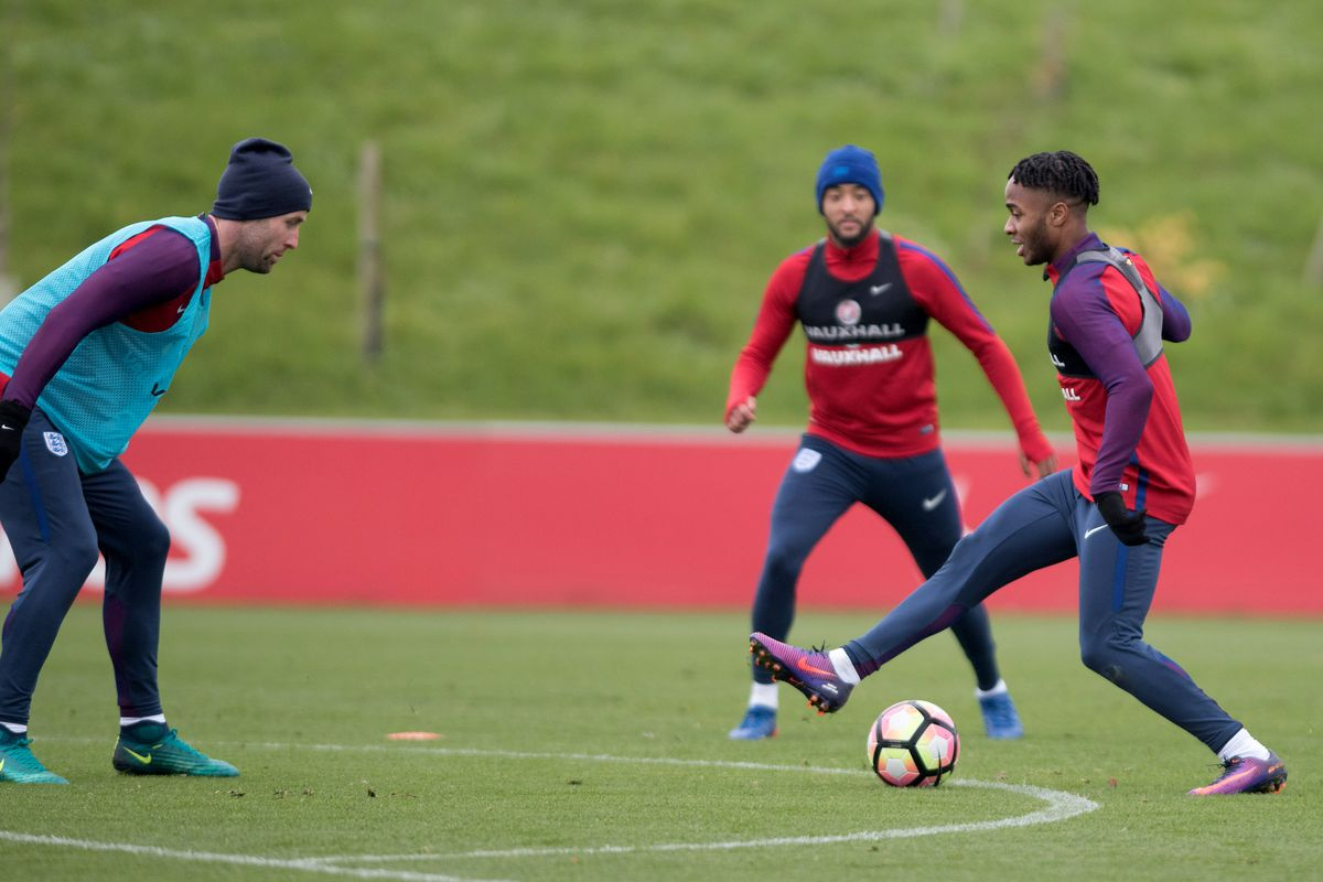 England training session - FIFA 2018 World Cup Group F Qualifier
