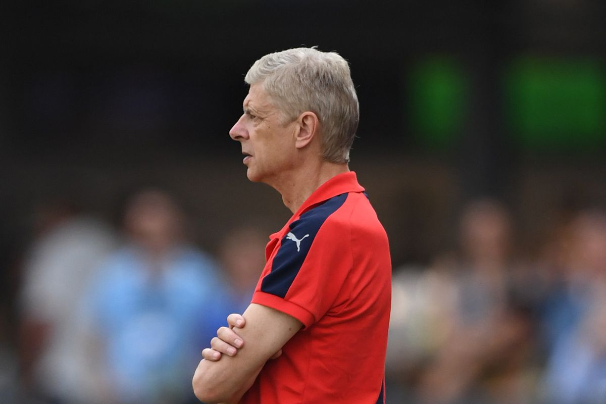 Arsene Wenger Unhappy With Arsenal's First Half Performance Vs Stoke City