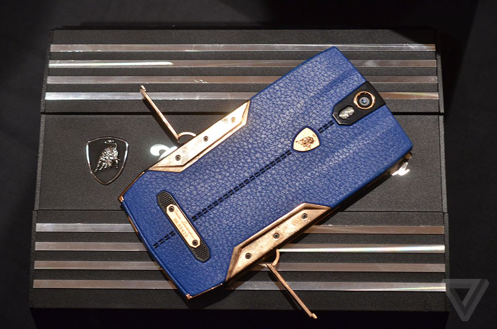 This 6 000 Lamborghini Smartphone Is Ridiculous The Verge