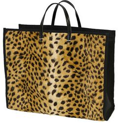 """Does it get any cooler than Wren and Clare Vivier? The two local favorites have teamed up to create this incredibly chic leopard tote (<a href=""""http://shop.wrenstudio.com/products/wren-x-clare-vivier-leopard-tote"""">$410</a>) fit for an East Coast escape."""