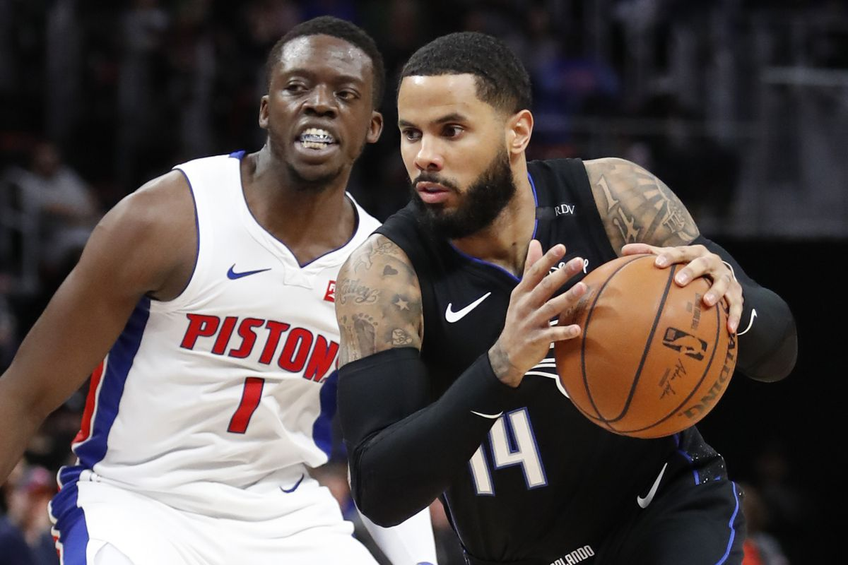NBA: Orlando Magic at Detroit Pistons