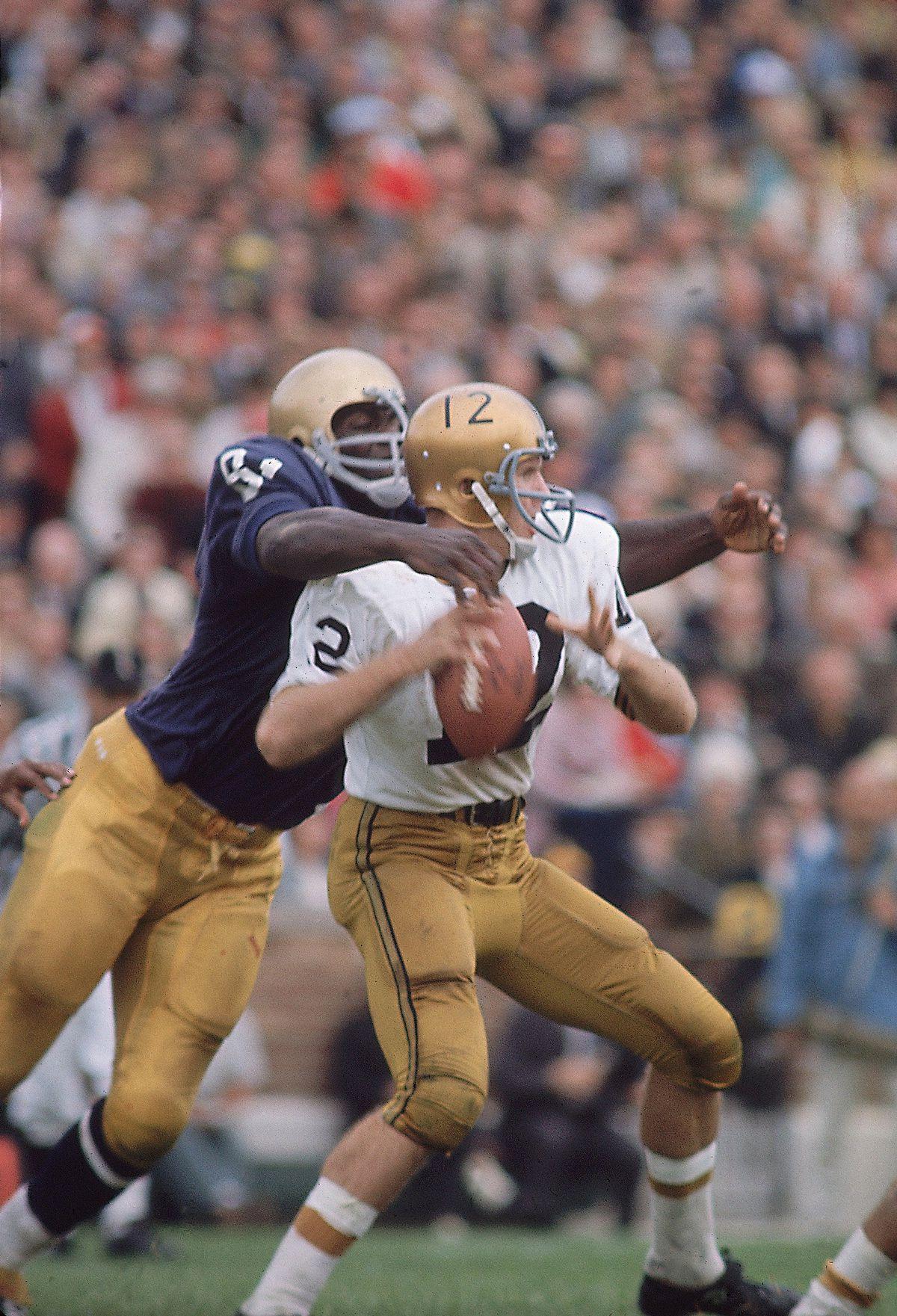 Notre Dame Alan Page...