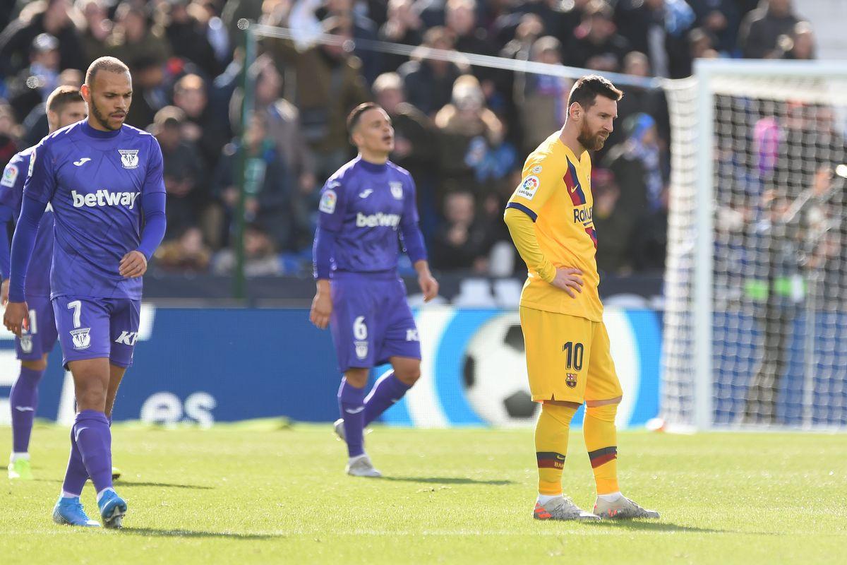 Barcelona were simply unforgivable against Leganés