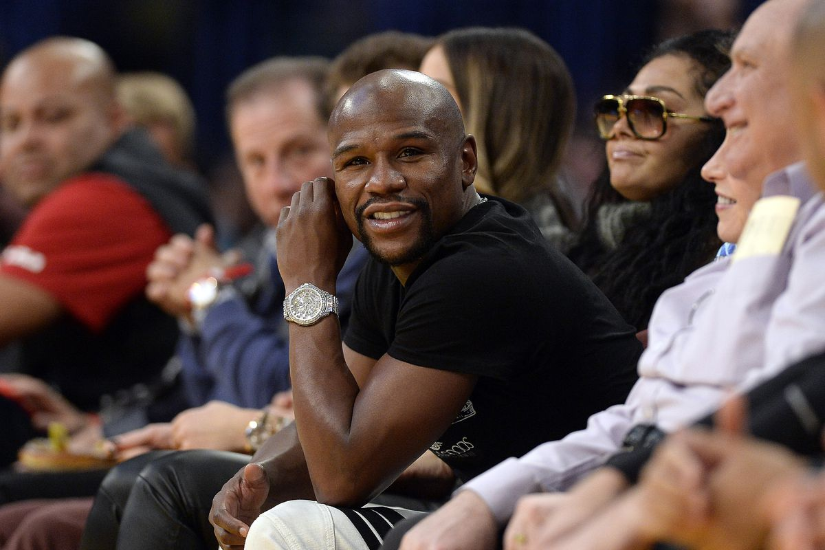 Things To Do In Westchester Today >> Boxer Floyd Mayweather Flies Out To Take In Westchester Knicks Game - Ridiculous Upside