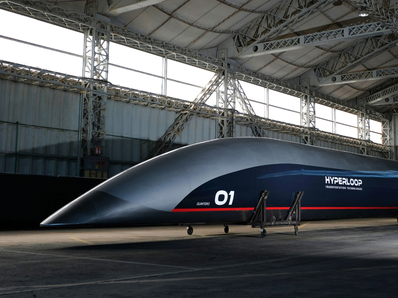 With hyperloop technology, the 310-mile trip between Chicago and Cleveland could take just 28 minutes.