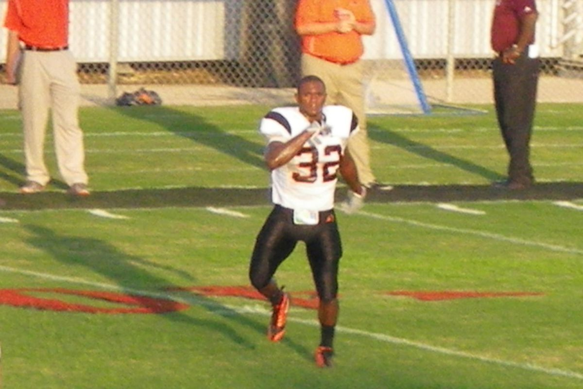 Aledo RB Johnathan Gray is the top Texas 2012 target at his position (photo by the author).
