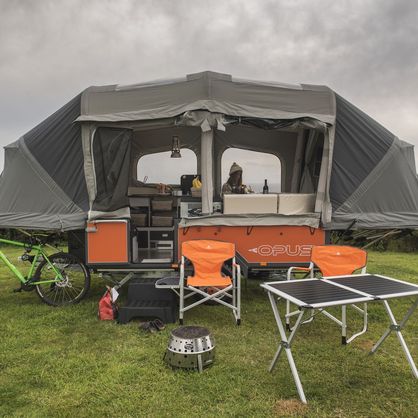 Air Opus Camping Trailer Inflates Into A Tent In Just 90 Seconds Curbed