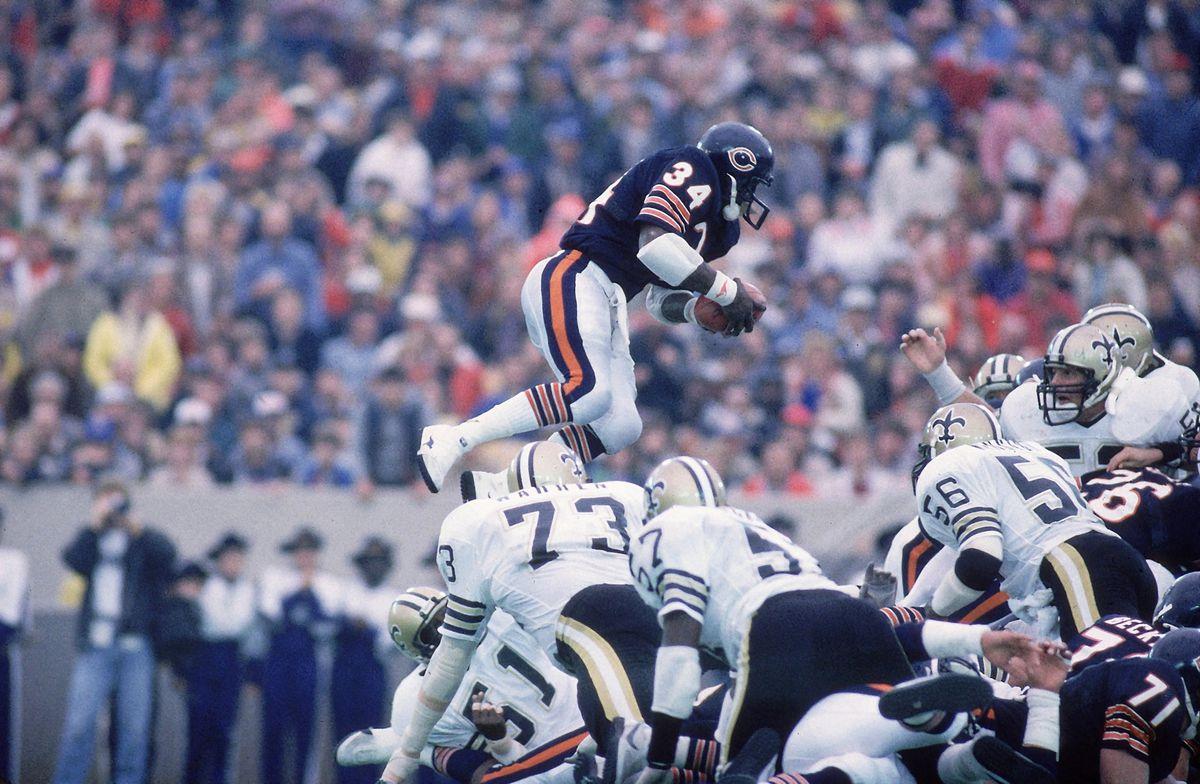 Chicago Bears Walter Payton...