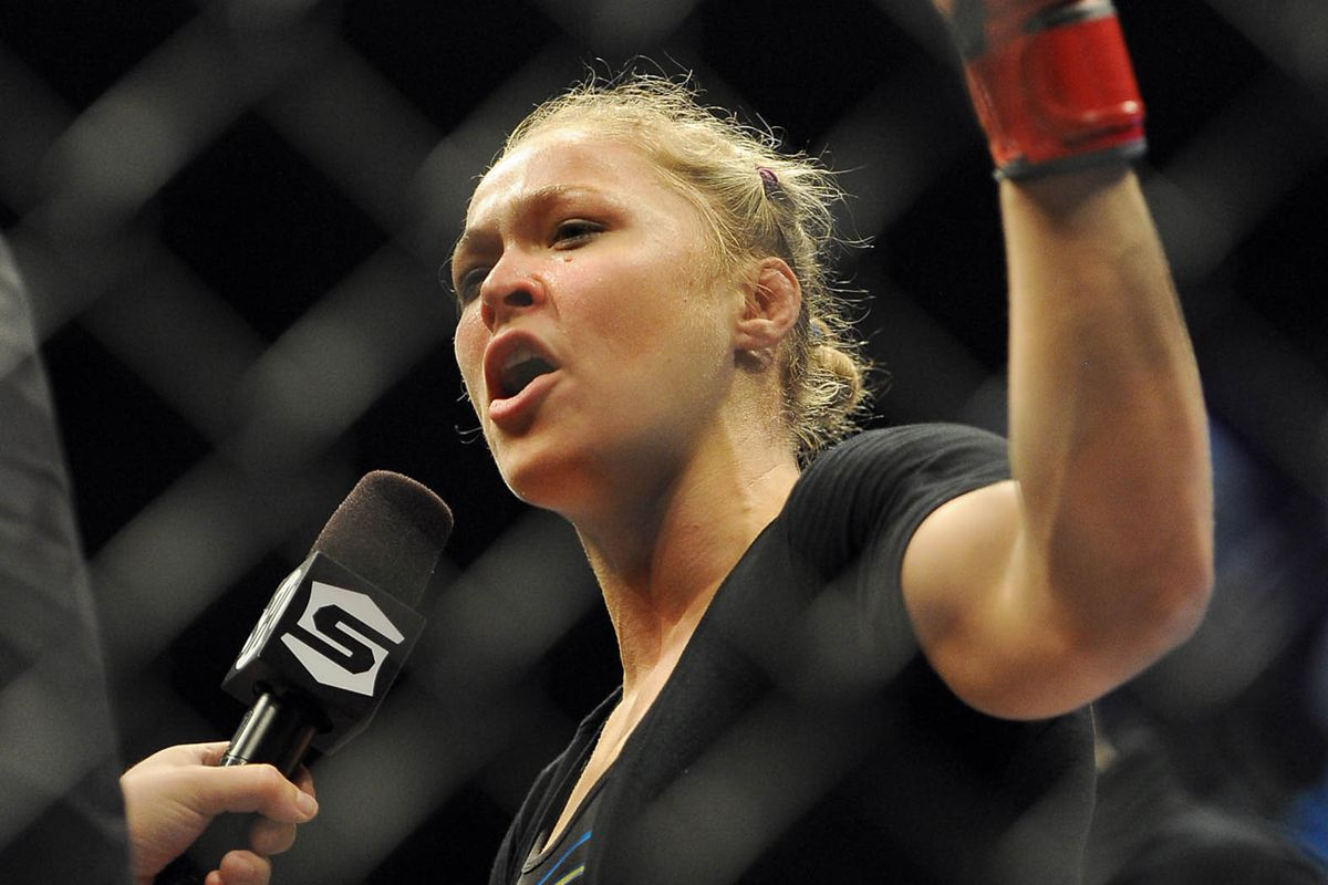 Ufc Quick Quote Ronda Rousey Wont Pose Nude For Playboy Because Her Privates Are Worth More Than Five Bucks