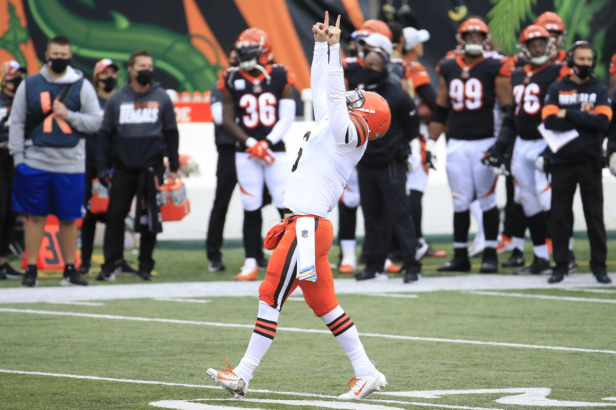 Browns vs. Bengals Final Score: Baker Mayfield has epic comeback  performance as Cleveland wins 37-34 shootout - Dawgs By Nature