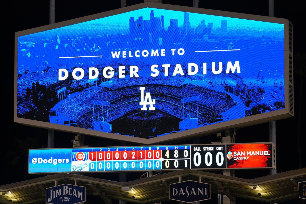 Chicago Cubs v. Los Angeles Dodgers