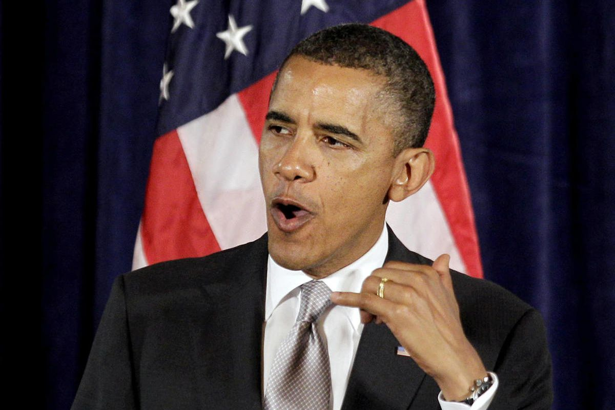 In this June 26, 2012 file photo, President Barack Obama speaks  in Atlanta. Turned away at the Supreme Court, congressional Republicans sketch a filibuster-proof strategy to repeal the nation's health care law in 2013.