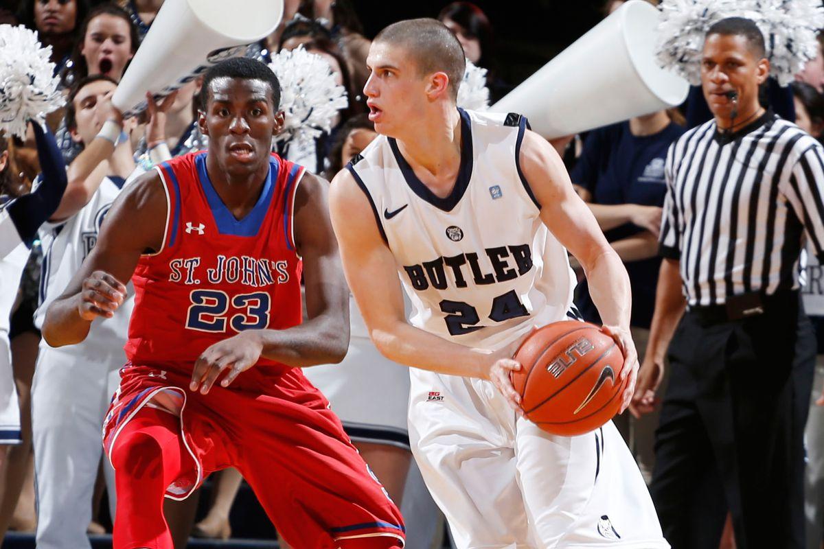 Sophomore guard Kellen Dunham (18.1 ppg) is Butler's player to watch.
