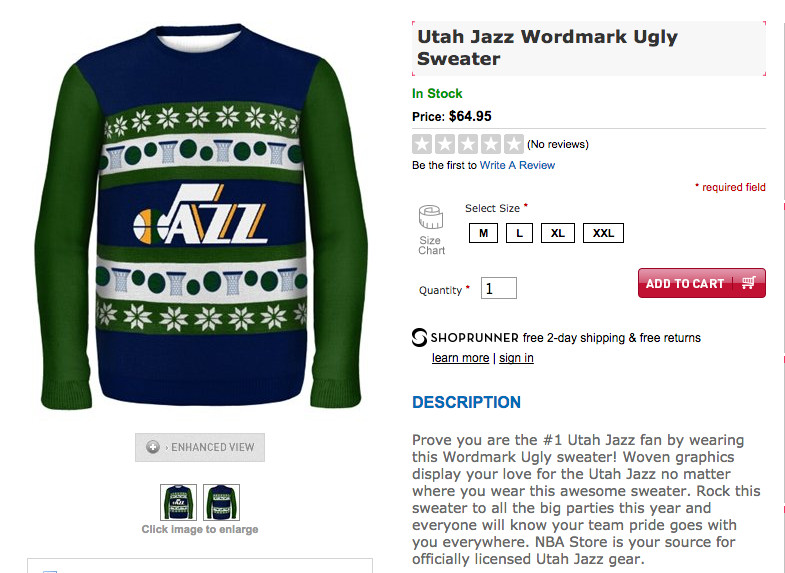 Our own Layton met up at Hogwarts to see what Harry and friends thought of  the new NBA ugly Christmas sweater trend. c265be712