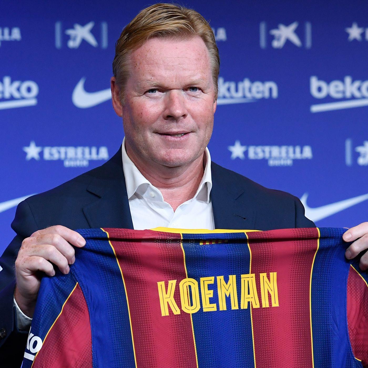 Ronald Koeman talks Barcelona changes, Lionel Messi and Frenkie de ...