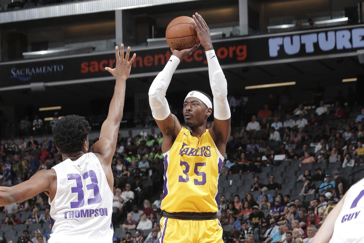 2019 California Classic - Day 3 - Los Angeles Lakers vs. Sacramento Kings
