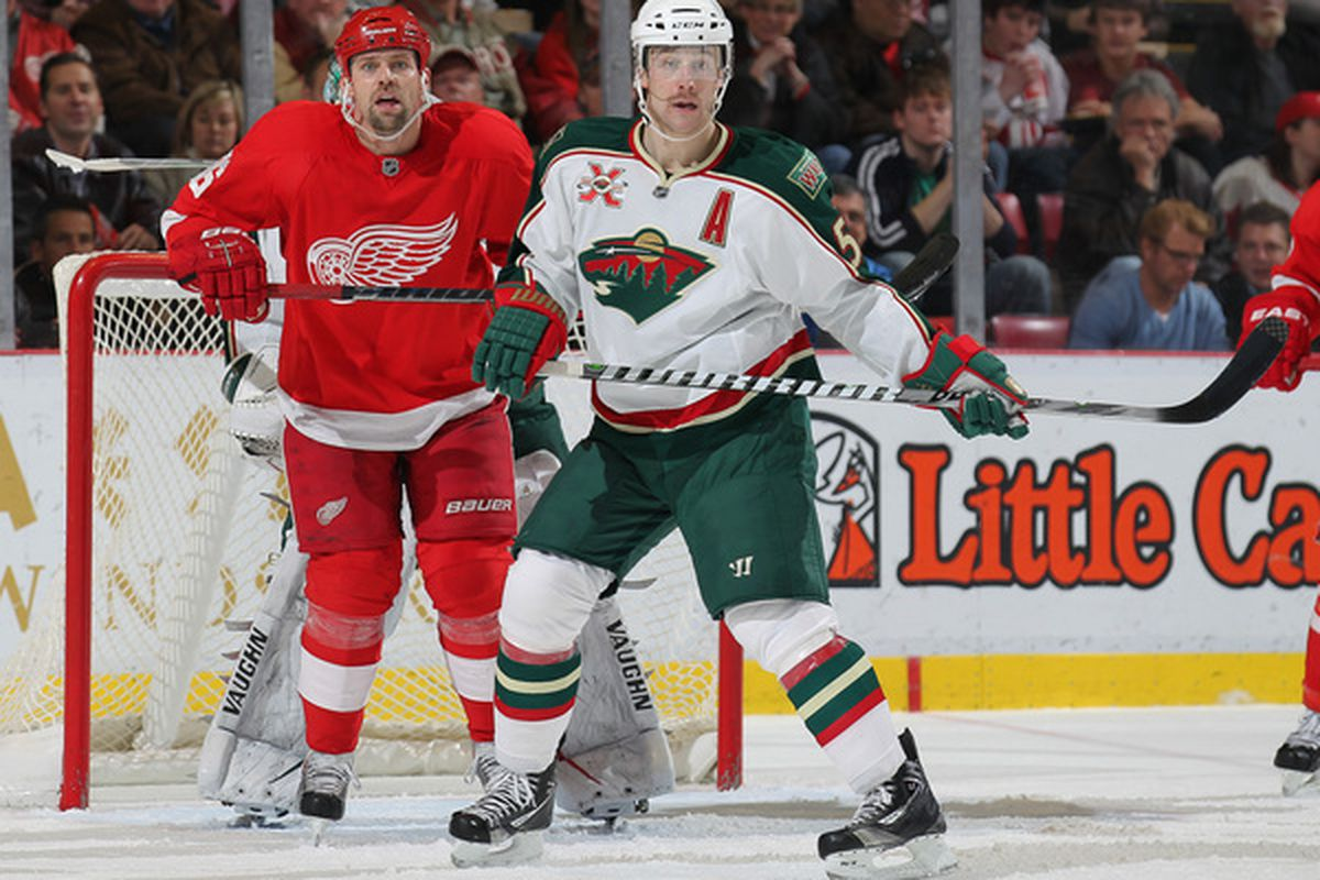 You want to guard Thomas Holmstrom? I don't.