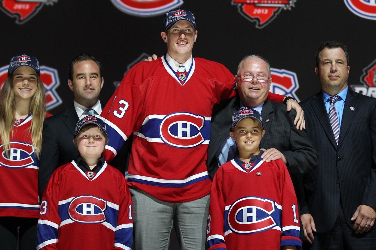 Michael McCarron was the first college recruit taken in the 2013 NHL Draft by the Montreal Canadiens.