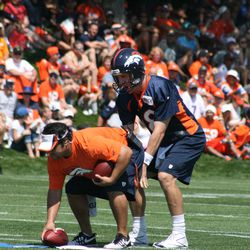 Peyton makes the call
