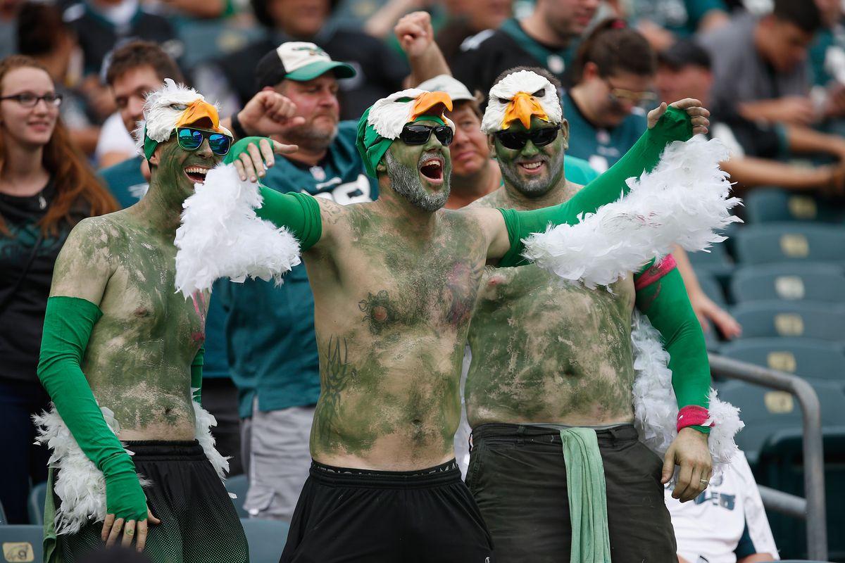 Image result for pictures of eagles fans
