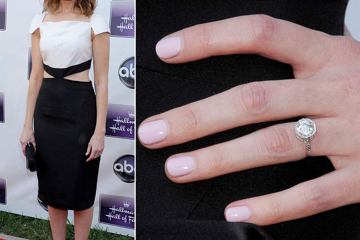Alexis Bledel Wedding Ring