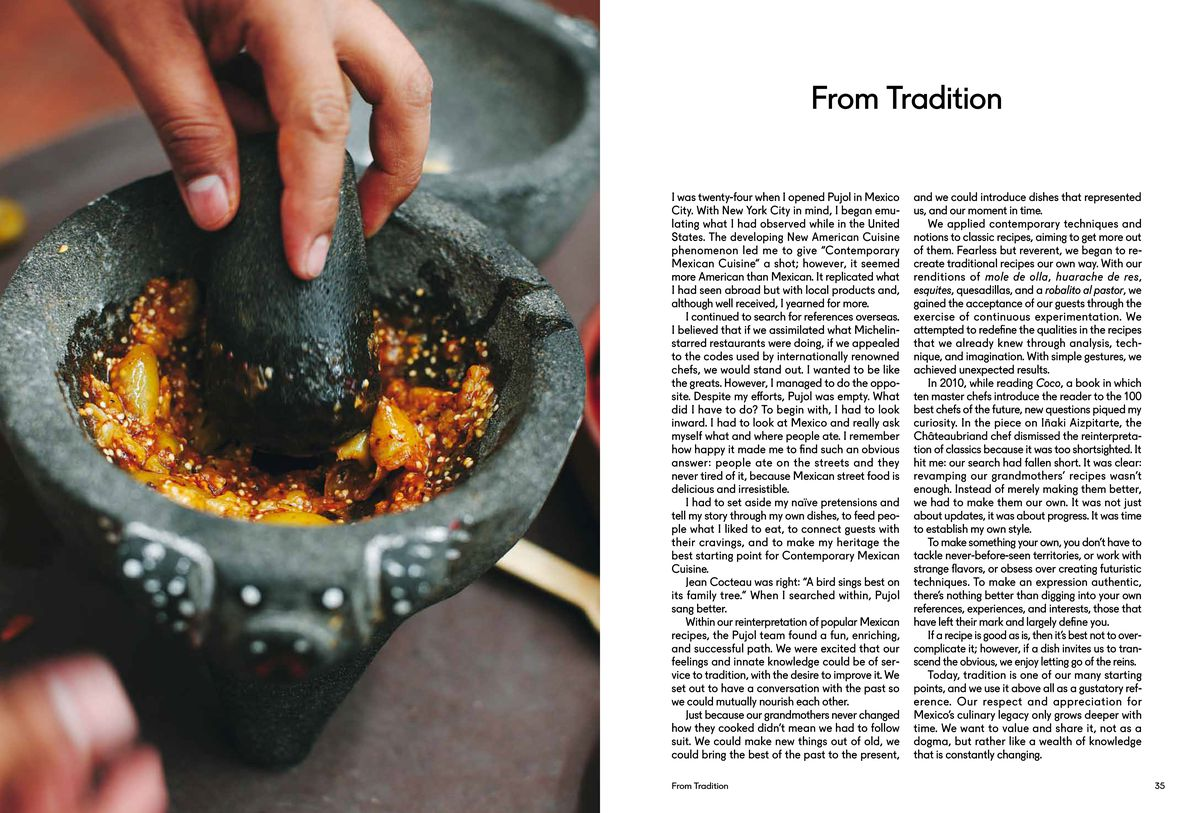 Inside 'Mexico,' Chef Enrique Olvera's New Cookbook - Eater
