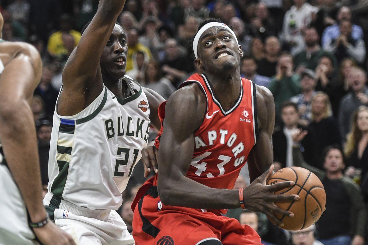 NBA: Toronto Raptors at Milwaukee Bucks