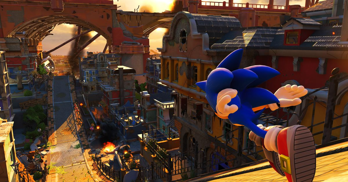 Sonic Forces review - Polygon