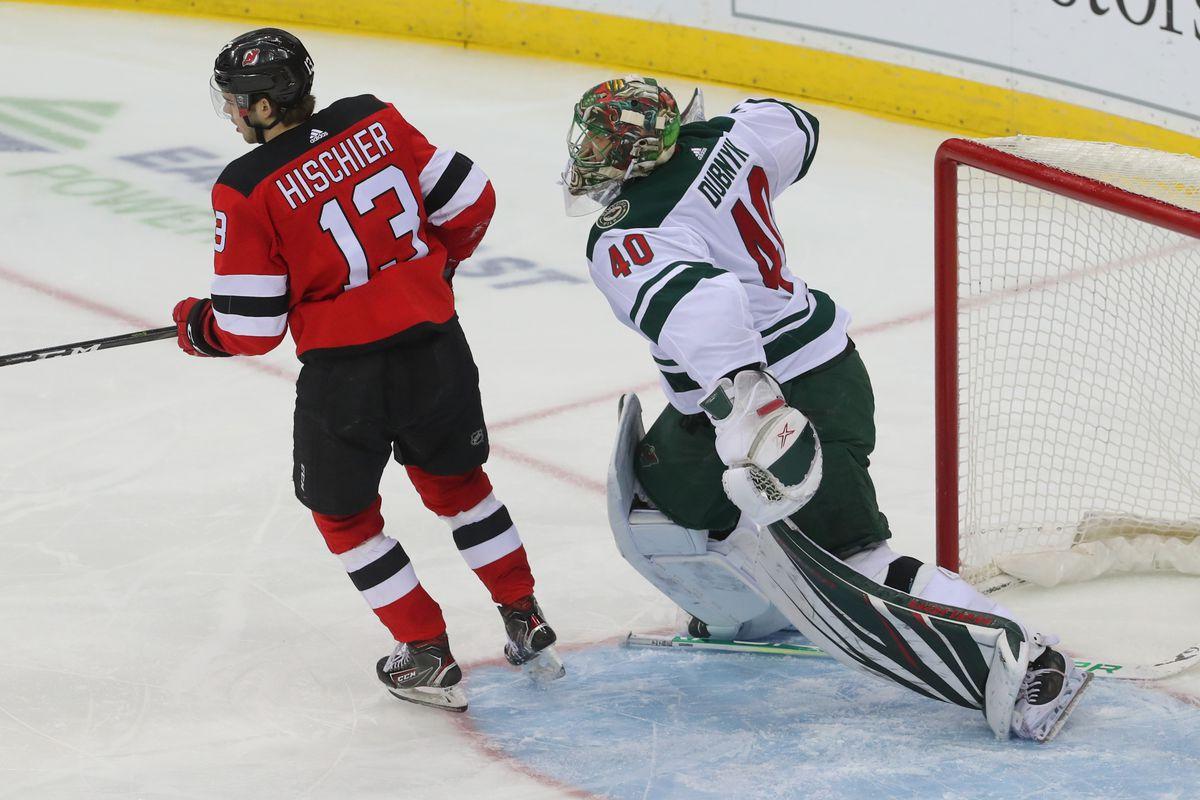 NHL: Minnesota Wild at New Jersey Devils