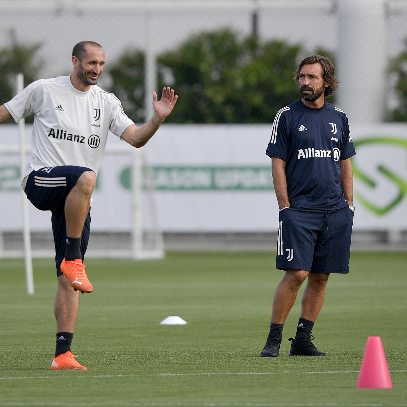 The Andrea Pirlo Era At Juventus Has Officially Begun Black White Read All Over