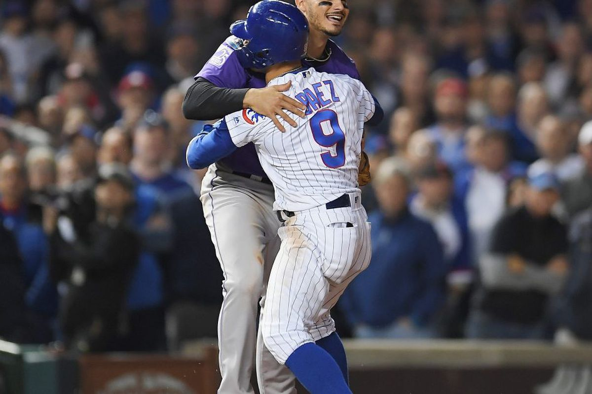 Cubs Vs Rockies Final Score 2018 Results Highlights For