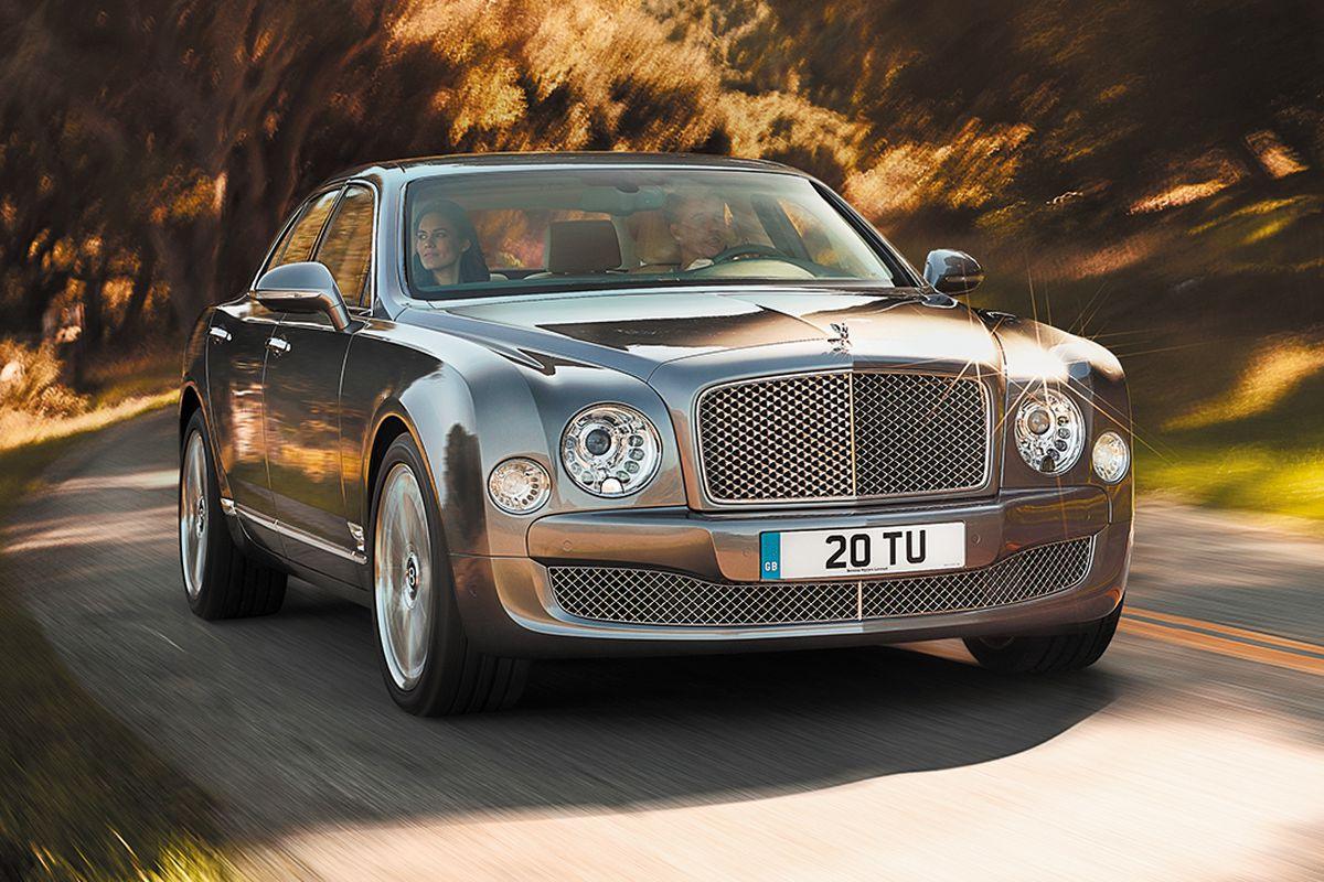 The Bentley Mulsanne, a car Jony Ive actually likes (and owns).
