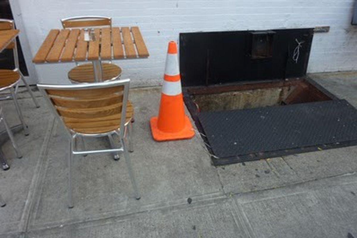 New York's Worst Outdoor Tables, Westville Edition