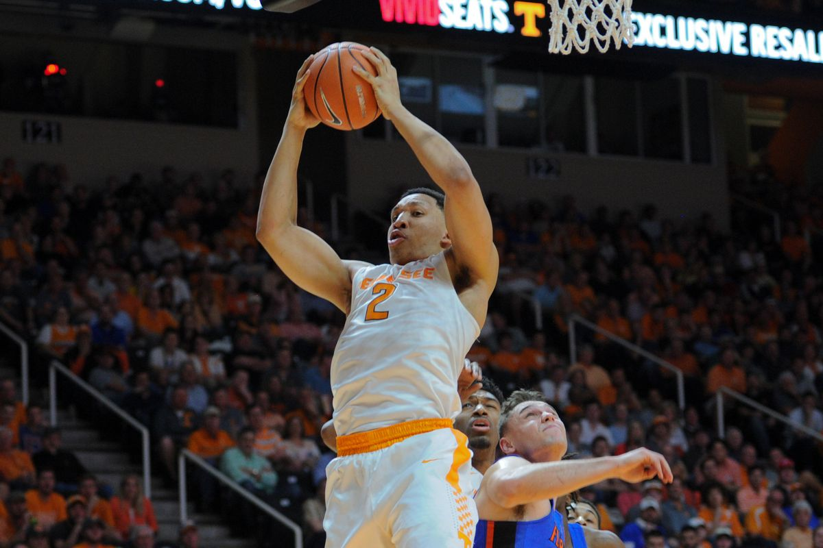 Tennessee clinches the No. 2 seed in the SEC Tournament ...