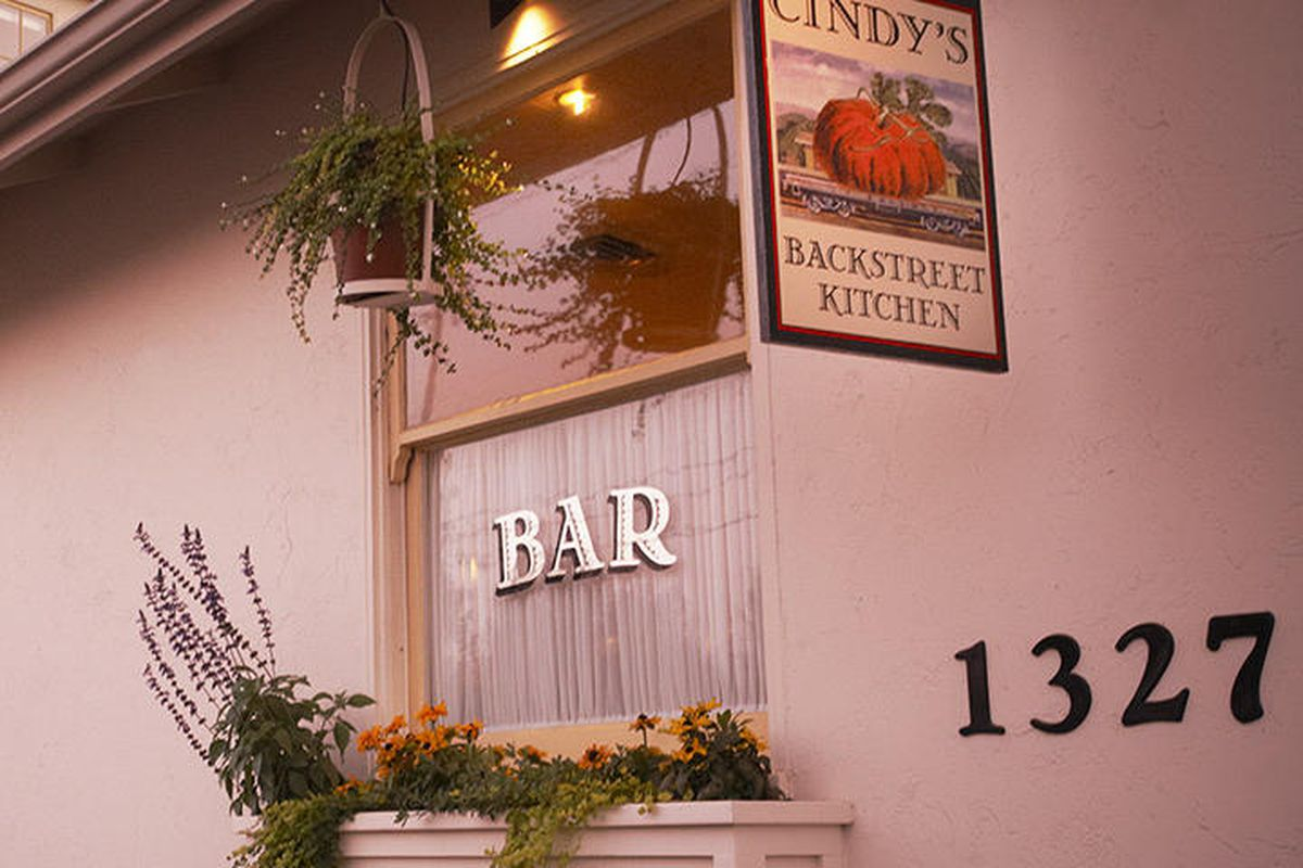 Napa S Cindy S Backstreet Kitchen Will Close July 7 Eater Sf