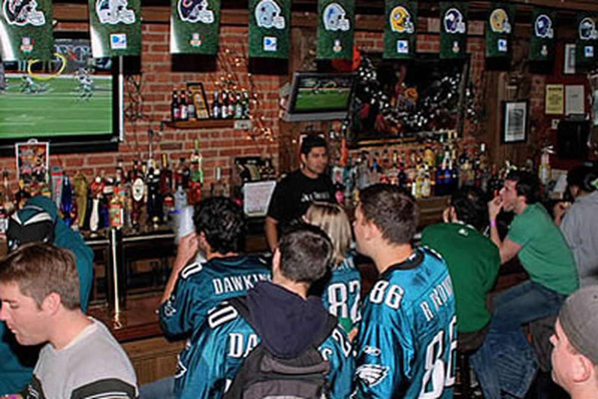 Where's the best place to watch the Eagles?