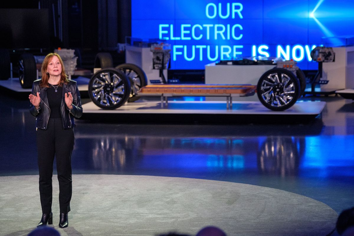 Gm Unveils A New Electric Vehicle Platform And Battery In