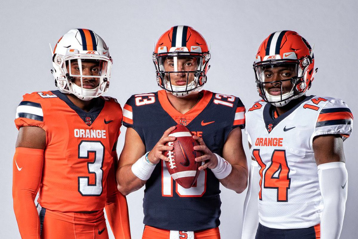 the best attitude 438d5 6146c Syracuse Orange football unveils new Nike uniforms for 2019 ...