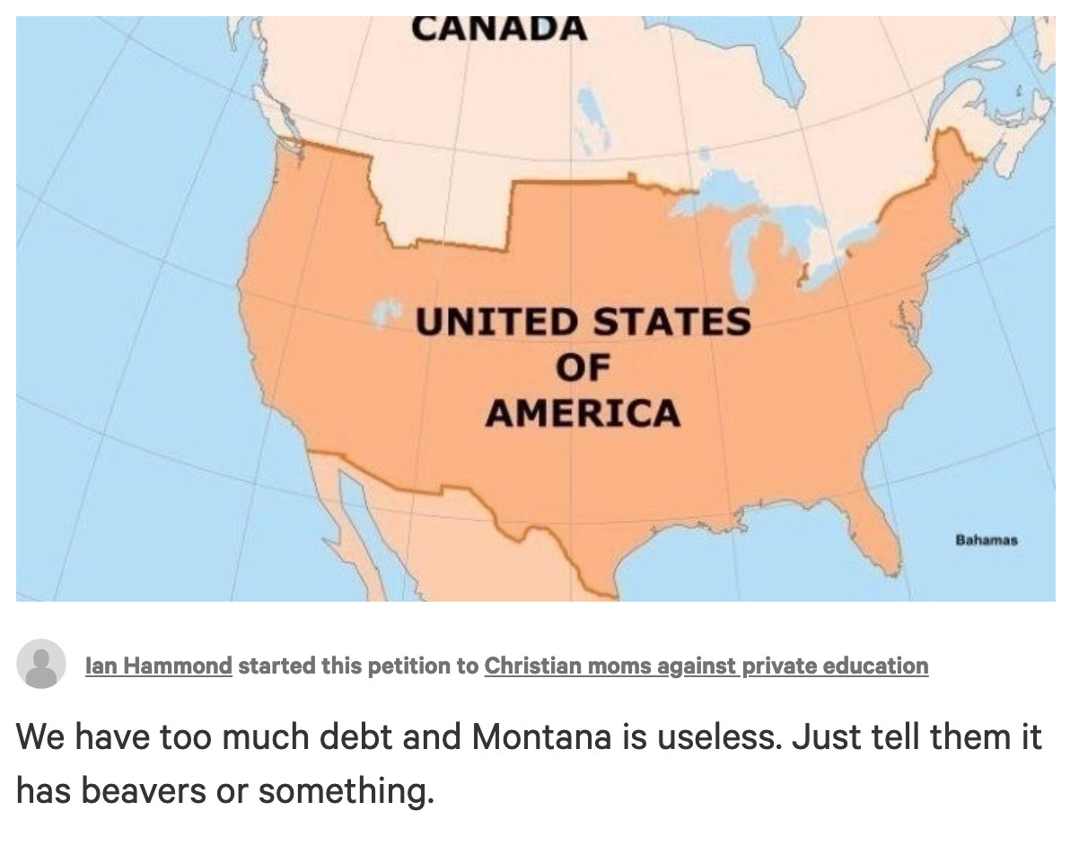 A Petition to Sell Montana to Canada is Gaining Traction