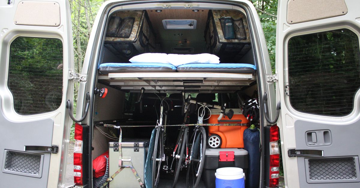 Mercedes Sprinter Rv >> DIY a Mercedes Sprinter with conversion kits from Adventure Wagon - Curbed