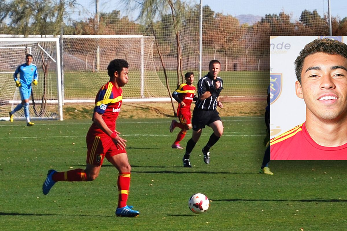 Danny Acosta signs with Real Salt Lake