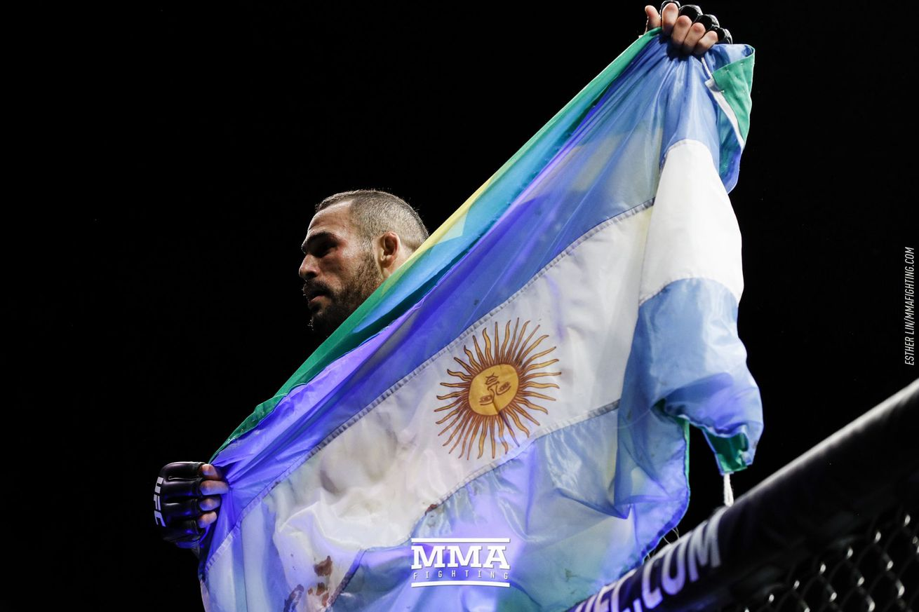 Santiago Ponzinibbio gets the home turf advantage as he headlines UFC Buenos Aires.