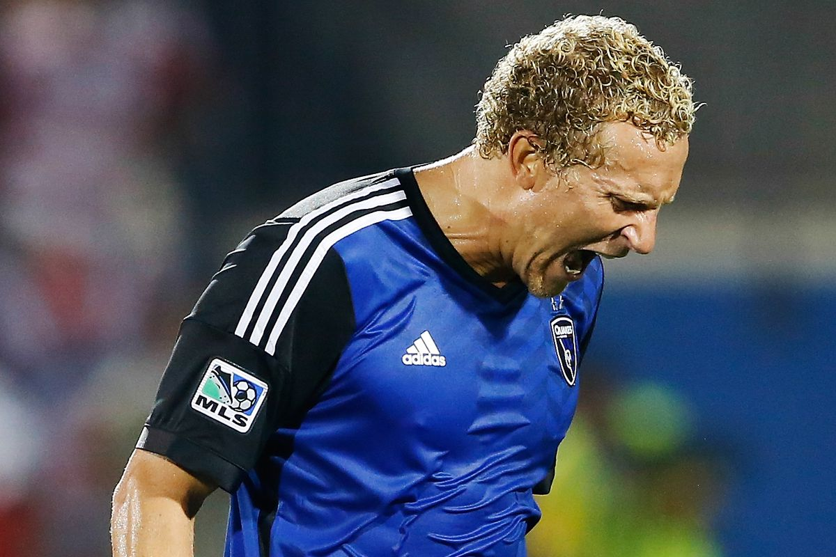 Steven Lenhart is likely to have played his last game with the Earthquakes