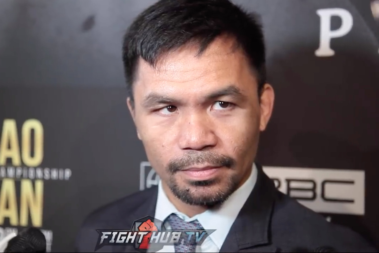 Screen Shot 2019 05 21 at 5.45.46 PM  2 .0 - Pacquiao: 'I've been in this sport more than two decades, no one can intimidate me'