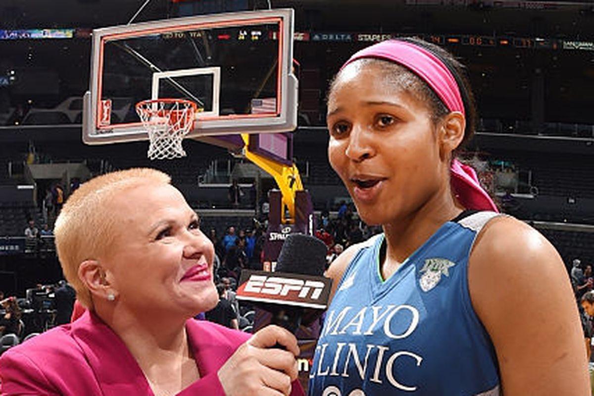 Holly Rowe, cancer, WNBA, Cheryl Reeve