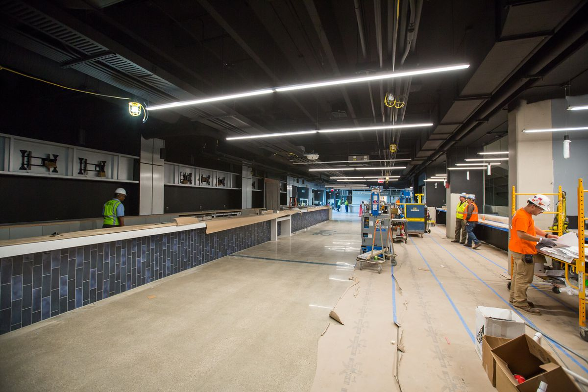 Inside Ford Field S 100m Renovation Curbed Detroit