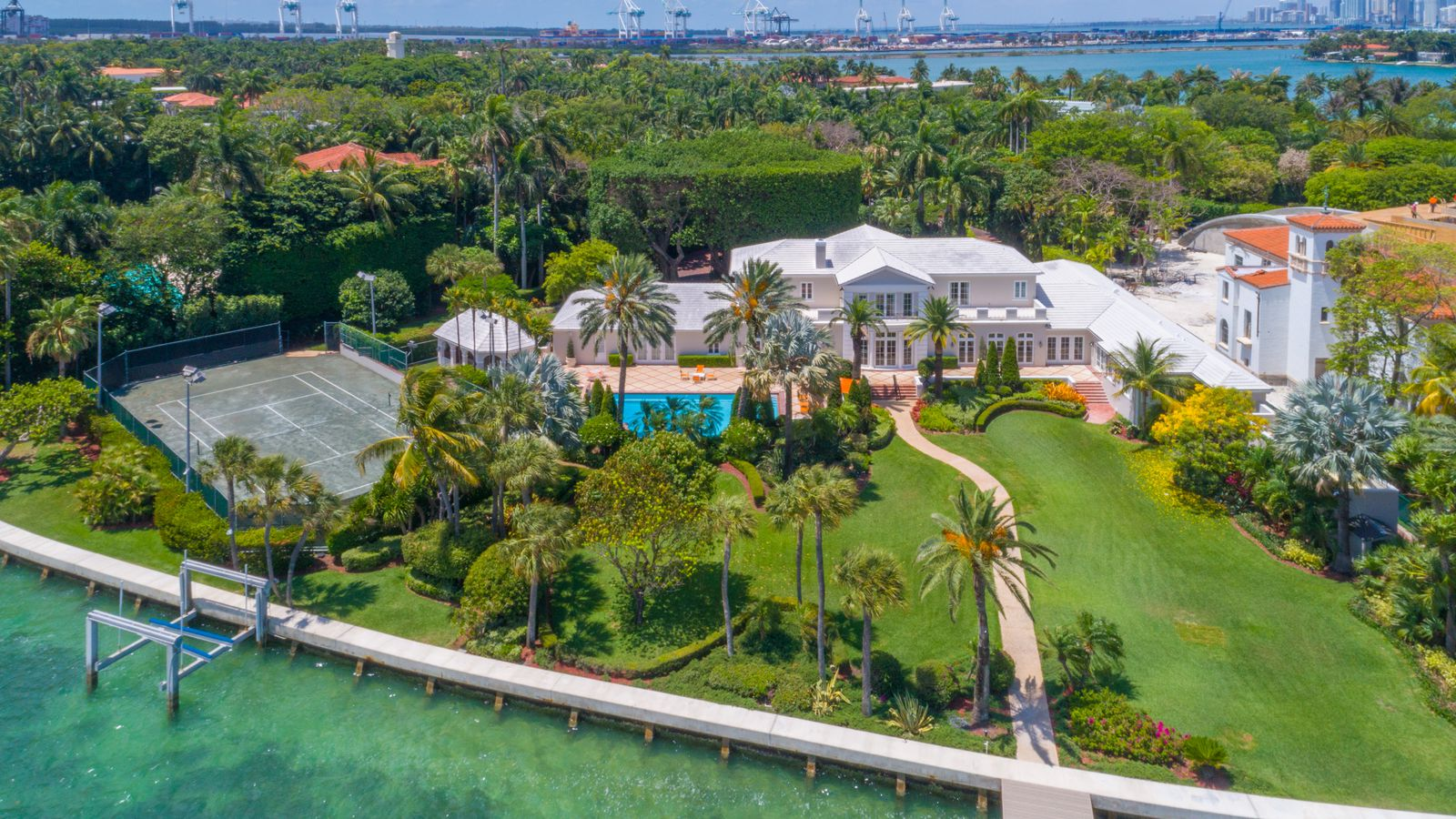 $49m star island manse becomes miami's 4th priciest home