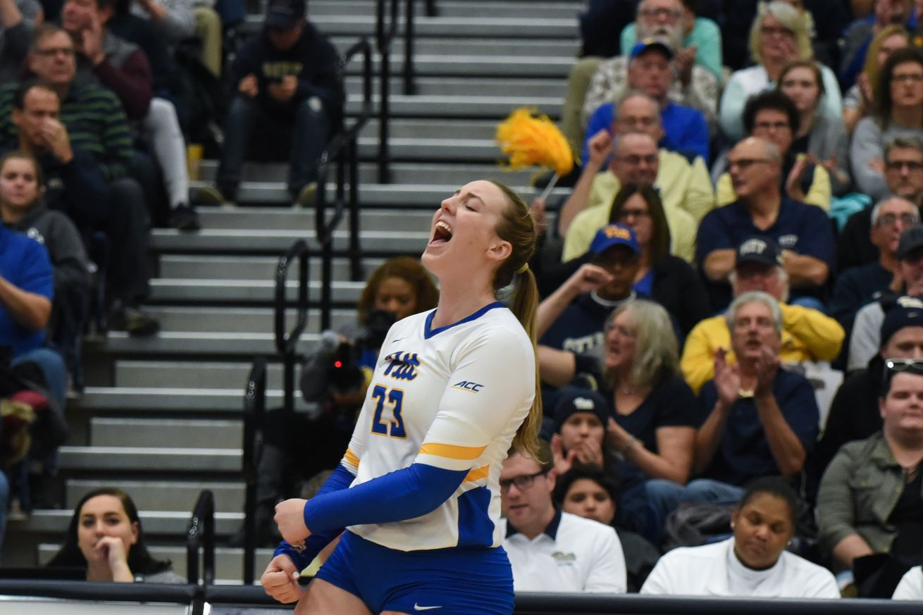 No. 12 Pitt volleyball sweeps Panther Challenge to begin season 3-0