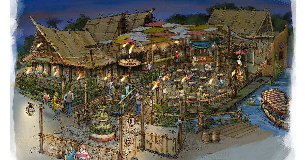 Disneyland Adds New Open Air Market Overlooking The Jungle Cruise Eater La